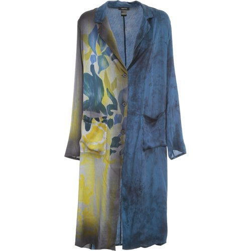 NEW Camouflage Duster With Hand Painted Iris , , Taille: XL - Avant Toi - Modalova