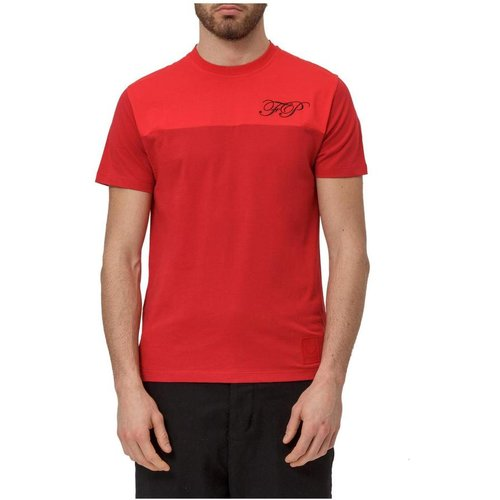T-Shirt with Logo , , Taille: 40 IT - Fred Perry - Modalova