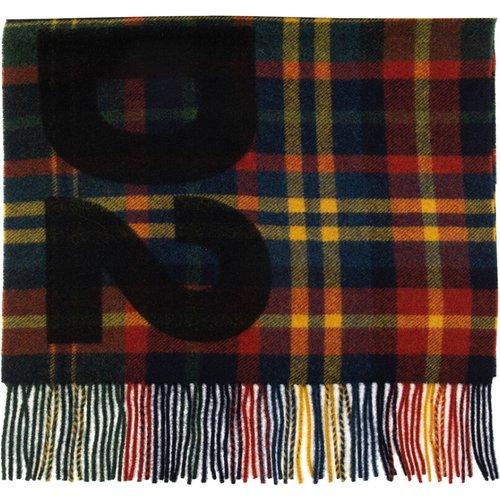 Écharpe en laine à carreaux , , Taille: Onesize - Dsquared2 - Modalova