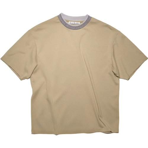Logo Binding T-Shirt/-L , , Taille: M - Acne Studios - Modalova