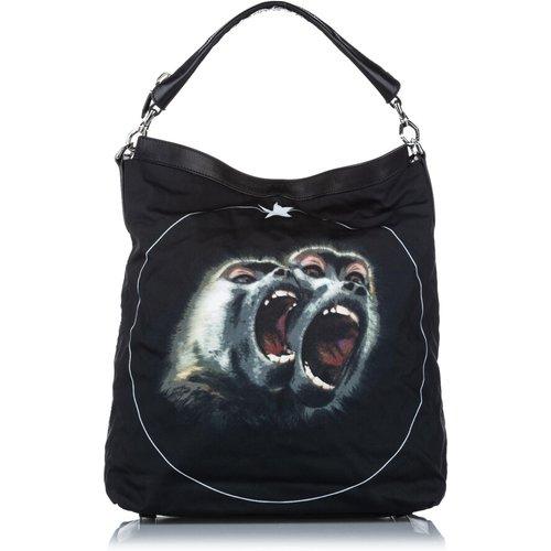 Monkey Brothers Nylon Satchel - Givenchy Vintage - Modalova