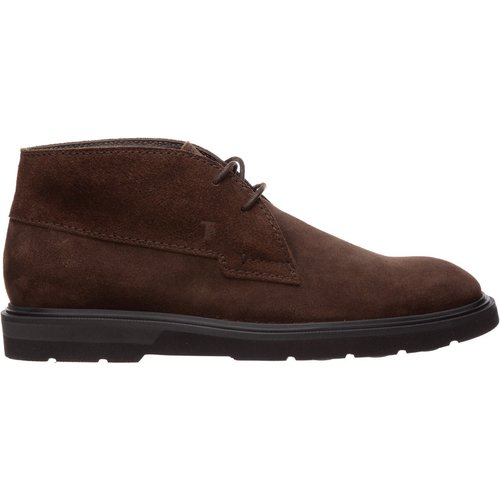 Suede desert lace up ankle boots - TOD'S - Modalova