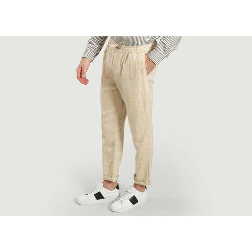Birch Linen Trousers - Knowledge Cotton Apparel - Modalova