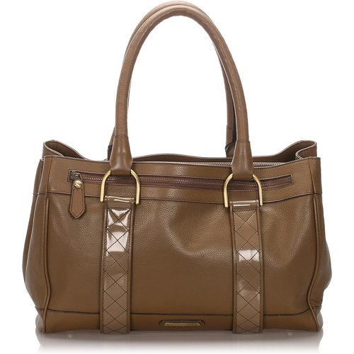 Calf Leather Shoulder Bag - Burberry Vintage - Modalova