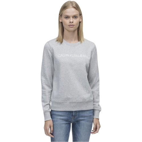 J20J209761 Instit.core T Shirt AND Tank Women Light Grey - Calvin Klein Jeans - Modalova