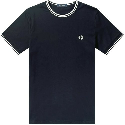 Twin Tipped T-shirt , , Taille: L - Fred Perry - Modalova