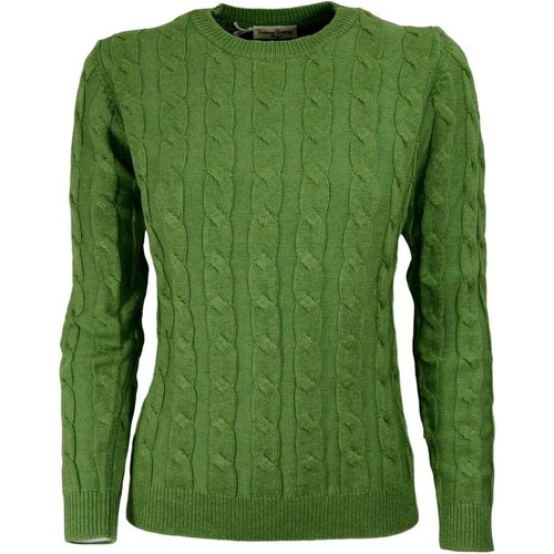 Women's Braided Sweater - Cashmere Company - Modalova