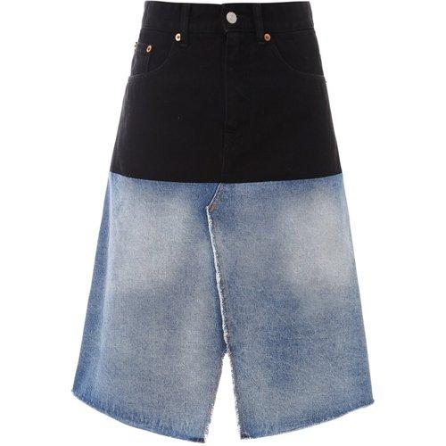 Skirt S52Ma0123S30589 , , Taille: 42 IT - MM6 Maison Margiela - Modalova