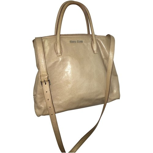 Top Handle Tote with Side Zip , , Taille: Onesize - Miu Miu Pre-owned - Modalova