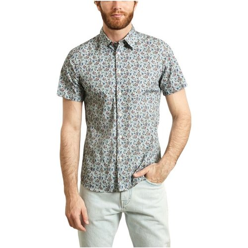 Floral Short Sleeves Cotton Shirt , , Taille: L - PS By Paul Smith - Modalova