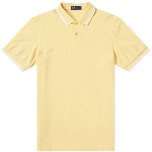 Slim Fit Twin Tipped Polo , , Taille: M - Fred Perry - Modalova