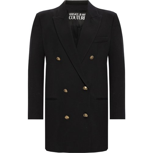 Double-breasted blazer - Versace Jeans Couture - Modalova