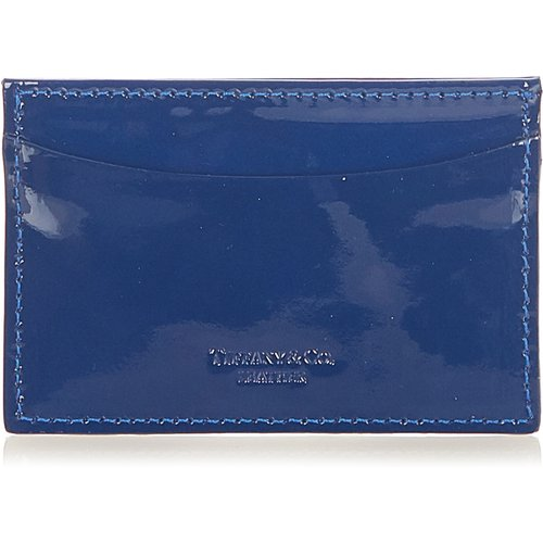 Pre-owned Patent Leather Card Holder , , Taille: Onesize - Tiffany Pre-owned - Modalova