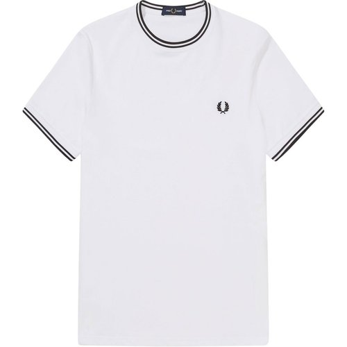 Twin tipped t-shirt , , Taille: S - Fred Perry - Modalova