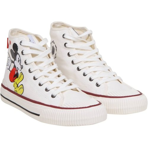 Sneakers in fabric with mickey mouse print - MOA - Master OF Arts - Modalova