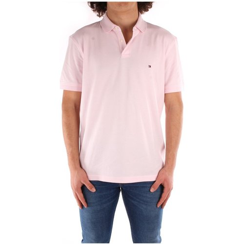Mw0Mw17770 Polo manches courtes , , Taille: M - Tommy Hilfiger - Modalova