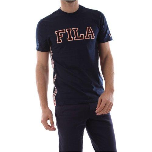 MEN Hank TEE T Shirt AND Tank Men Black Iris , , Taille: S - Fila - Modalova