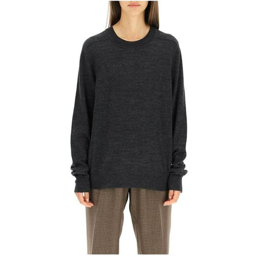 Stiching sweater with suede patches , , Taille: XS - Maison Margiela - Modalova