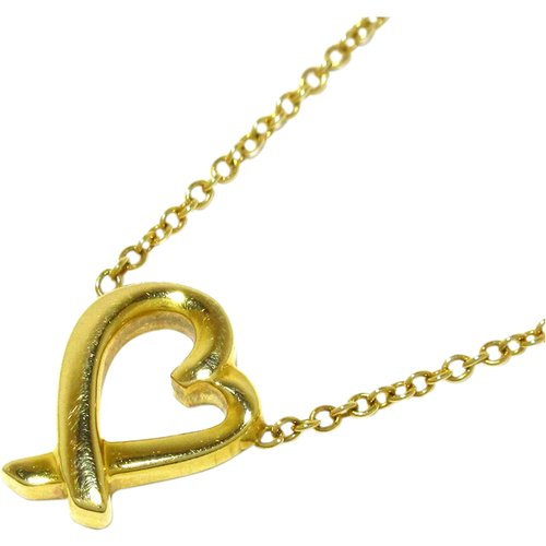 Collier coeur aimant 18 carats , , Taille: Onesize - Tiffany Pre-owned - Modalova
