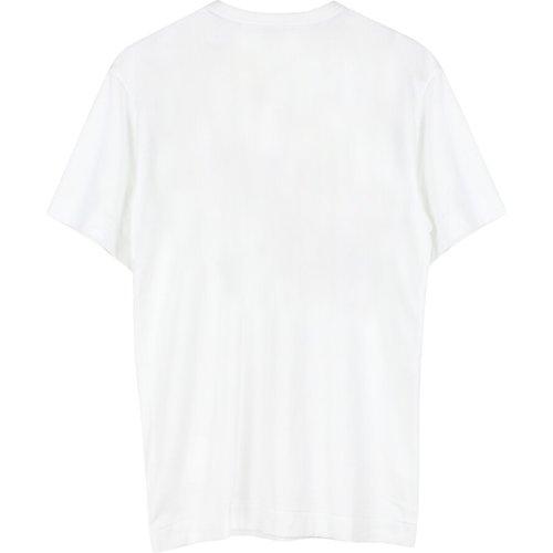 Logo Print T-Shirt - Comme des Garçons Play - Modalova