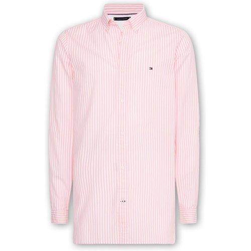 Slim Natural Soft Stripe Shirt , , Taille: S - Tommy Hilfiger - Modalova