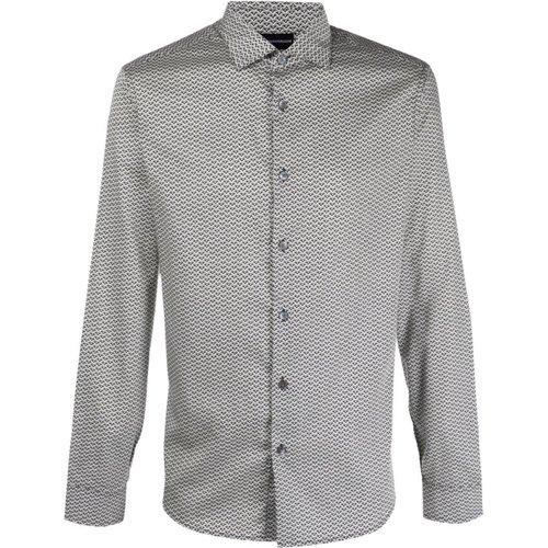 ALL Over Logo Shirt , , Taille: S - Emporio Armani - Modalova