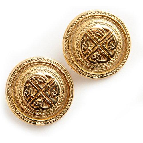 Pierced round earrings - Givenchy Vintage - Modalova