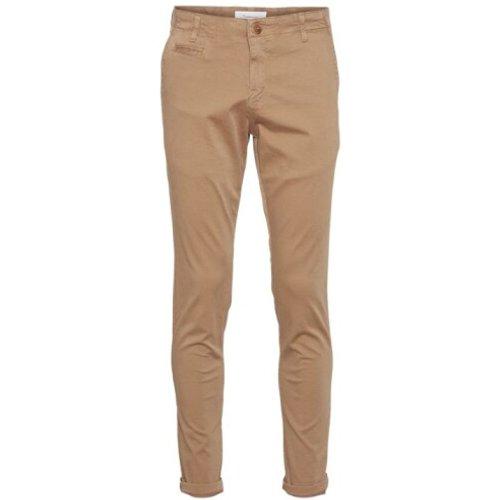 JOE slim chino pants - Knowledge Cotton Apparel - Modalova