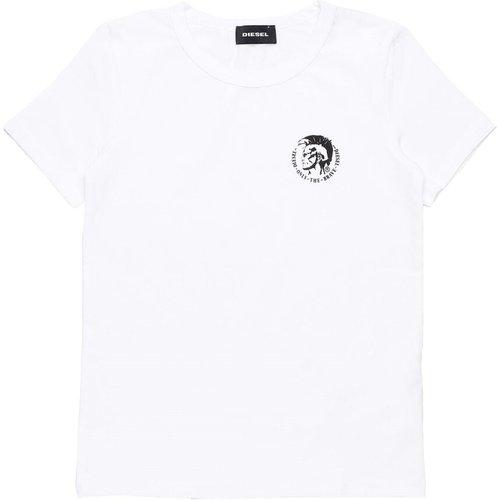 J4Mm 0Tavg Umtee-Trandal T Shirt AND Tank Unisex Boys White - Diesel - Modalova