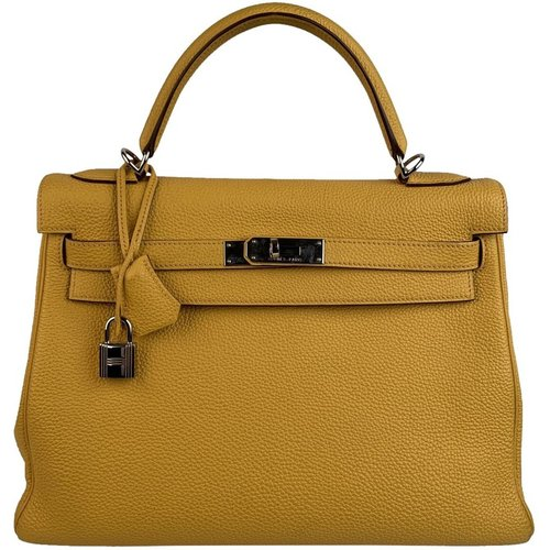 Kelly 32 Retourne Top Handle Bag Satchel - Hermès Vintage - Modalova