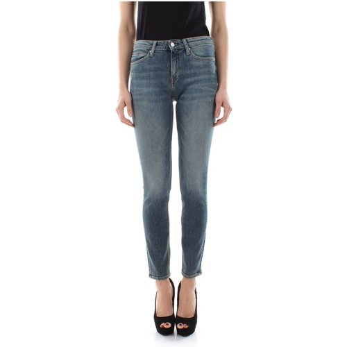 J20J208030 - 011 MID Rise Jeans Women Denim Medium Blue - Calvin Klein Jeans - Modalova