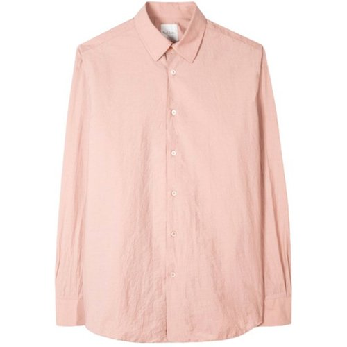 Slim-Fit Peach Cotton-Blend Shirt , , Taille: M - Paul Smith - Modalova