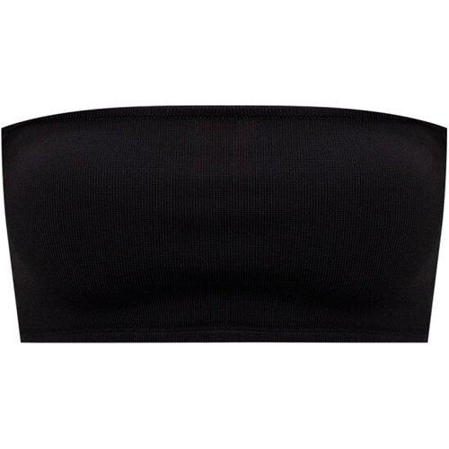 Crop top w/ denuded shoulders - Balmain - Modalova