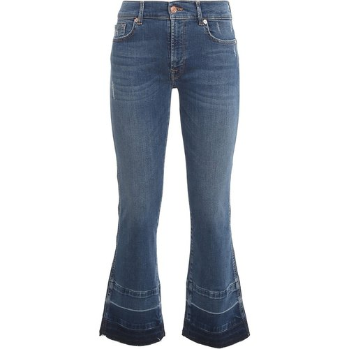 Cropped Boot Jeans - 7 For All Mankind - Modalova