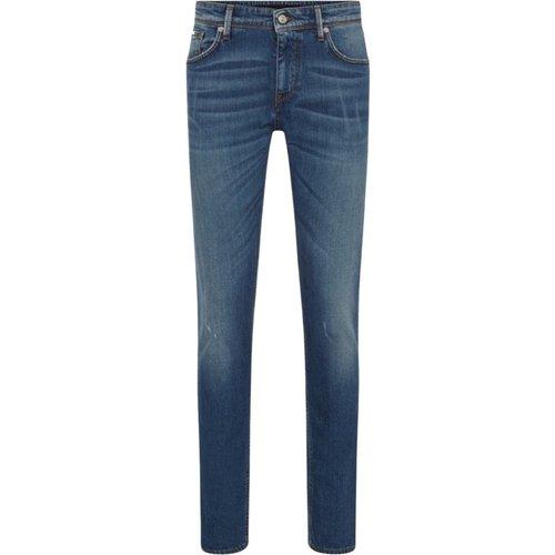 Washed effect slim fit jeans - Hugo Boss - Modalova