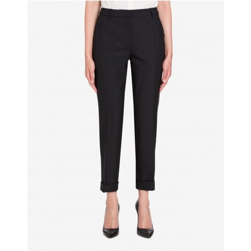 Slim-fit dress pants , , Taille: 44 IT - Boutique Moschino - Modalova