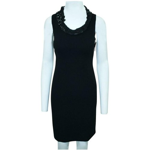 Shift Dress With Faux Pearls -Pre Owned Condition Very Good - Moschino Pre-owned - Modalova