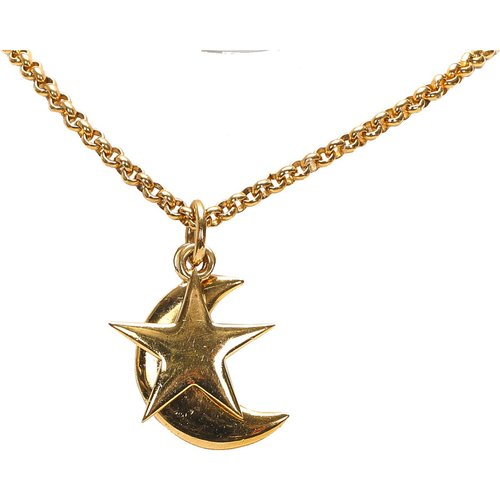 Moon And Star Pendant Necklace - Celine Vintage - Modalova