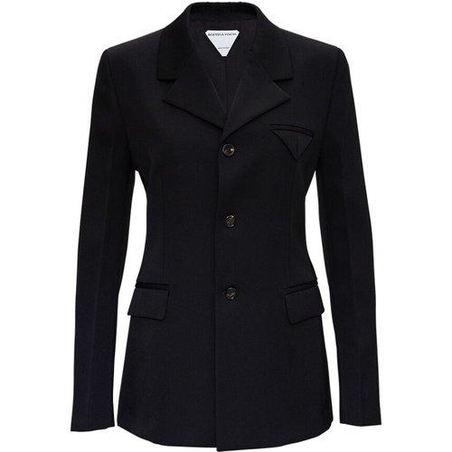Single Breasted Wool Blazer , , Taille: 40 IT - Bottega Veneta - Modalova