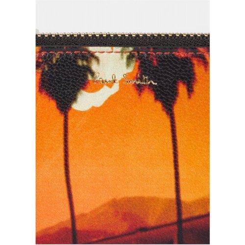 Porte carte monnaie imprimé palmiers - Paul Smith - Modalova