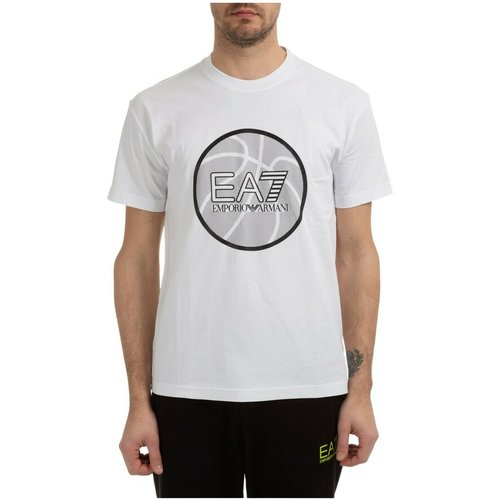 Short sleeve t-shirt crew neckline , , Taille: M - Emporio Armani EA7 - Modalova