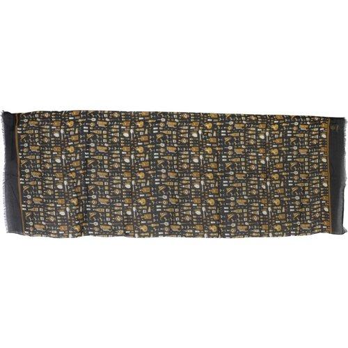 Écharpe à imprimé modal et cachemire - Dolce & Gabbana - Modalova