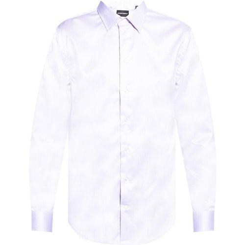 Cotton shirt , , Taille: 42 - Emporio Armani - Modalova