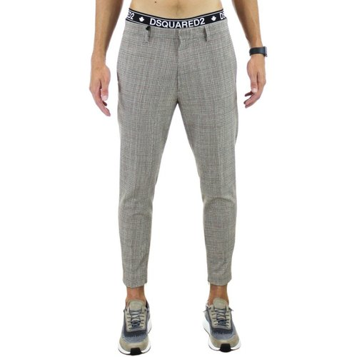 Cotton trousers , , Taille: 50 IT - Dsquared2 - Modalova
