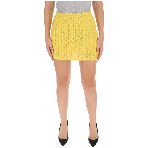 Cable-knit mini skirt , , Taille: 38 IT - Laneus - Modalova