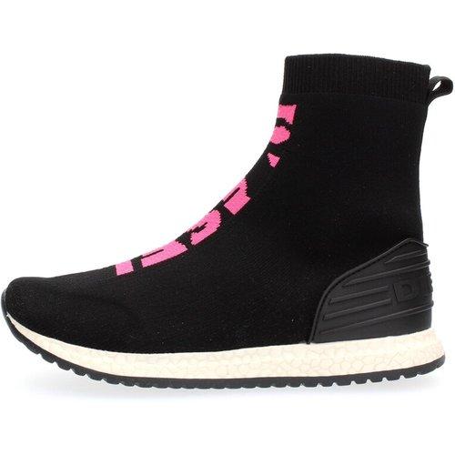 B0Y0133 P0338 Brave Runner Sneakers Unisex Woman and Boys Black - Diesel - Modalova