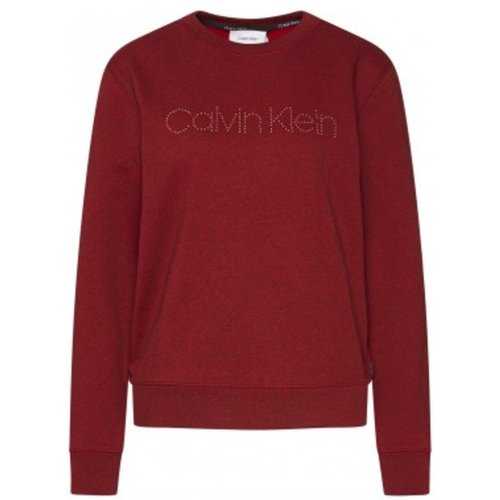 Felpa LS Logo Stud Calvin Klein - Calvin Klein - Modalova