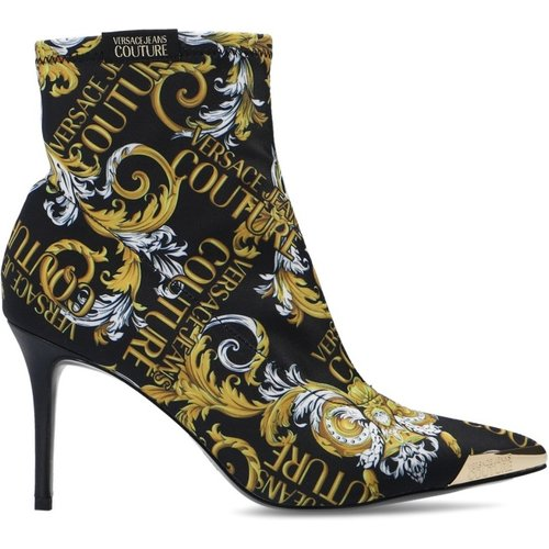 Heeled ankle boots - Versace Jeans Couture - Modalova