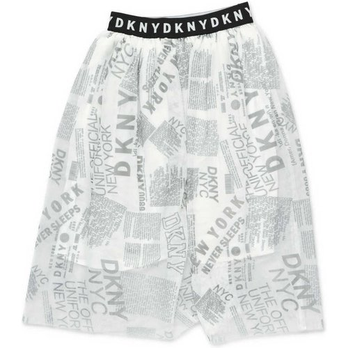 Printed stretch tulle skirt Dkny - DKNY - Modalova
