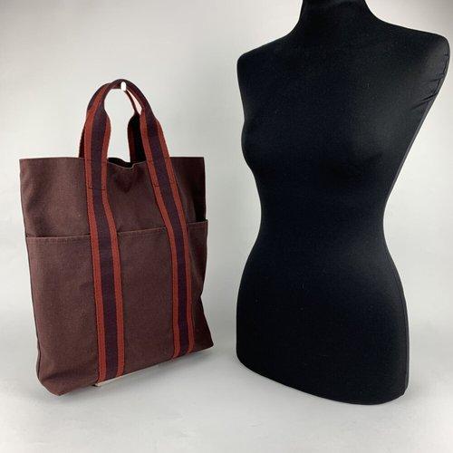 Sac shopping vertical Fourre Tout - Hermès Vintage - Modalova